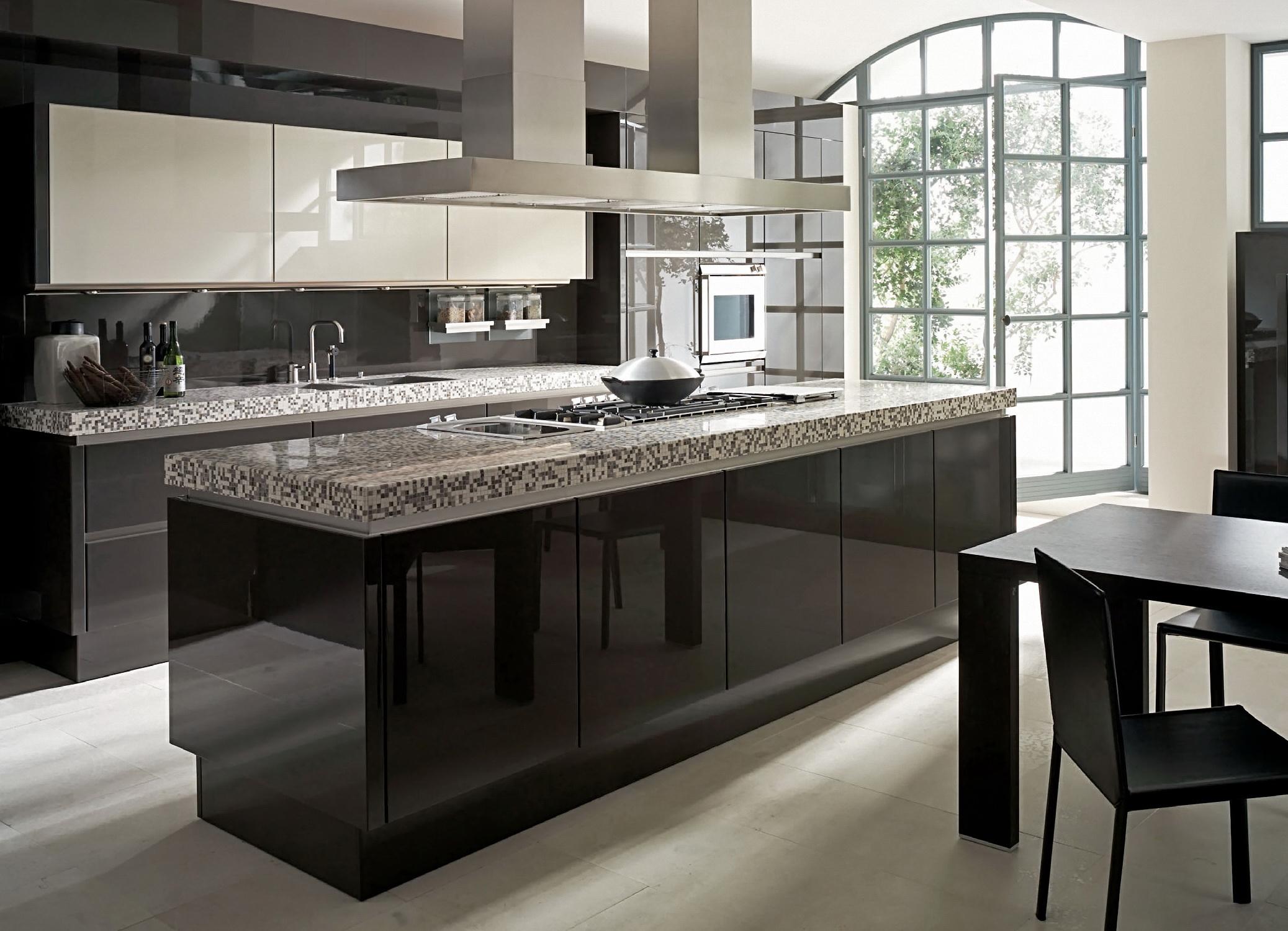 design de bucătărie în stil minimalism