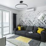 trang trí tường trong thiết kế phòng khách
