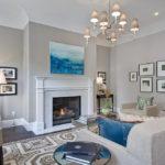 trang trí tường trong ảnh thiết kế phòng khách