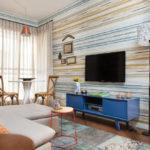 trang trí tường trong ý tưởng nội thất phòng khách