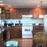 set de bucătărie design mare din lemn