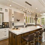 mare idei de design de bucătărie fotografie