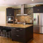 interior design de bucătărie mare