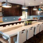 proiectarea unei bucătării mari în casă