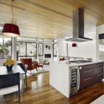 design al unei bucătării mari în stil eco
