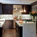 designul unei bucătării mari în apartament