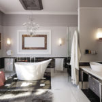 Design de salle de bain Art Nouveau