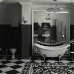 Conception de salle de bain de style vintage