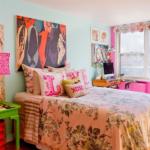 chambre pour les photos des adolescentes
