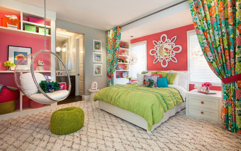 idées de conception pour une chambre de fille