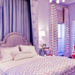 chambre pour adolescentes lilas