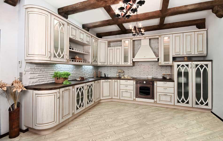 bucătărie în stil rural