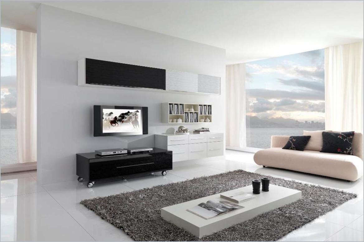sự tối giản trong nội thất phòng khách