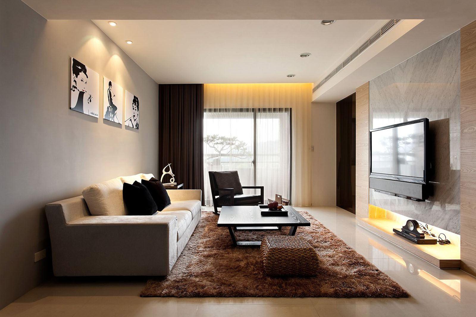 Trang trí nghệ thuật Nouveau trong nội thất phòng khách