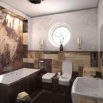 architecture et design de la salle de bain