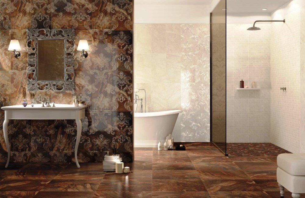 Conception de salle de bain éclectique