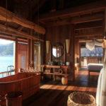 Conception de salle de bain dans un chalet français de maison privée