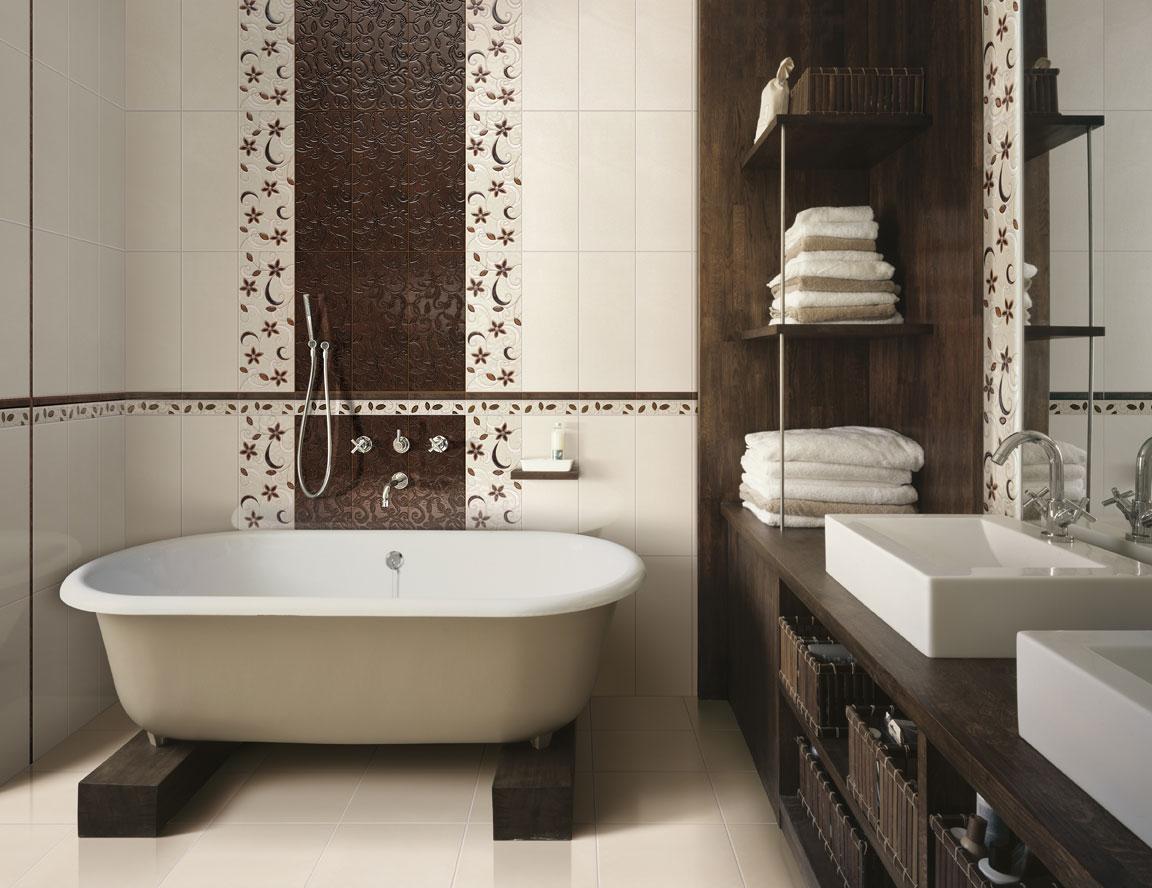 Conception d'une salle de bain dans une maison privée avec un mobilier fonctionnel