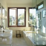 Conception de salle de bain dans une maison privée