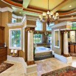 Conception d'une salle de bain dans une maison privée dans un style classique