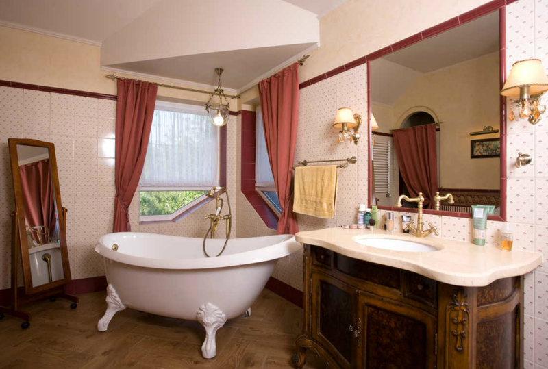 Conception de salle de bain vintage