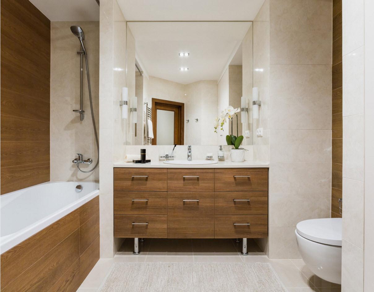 design de salle de bain avec WC