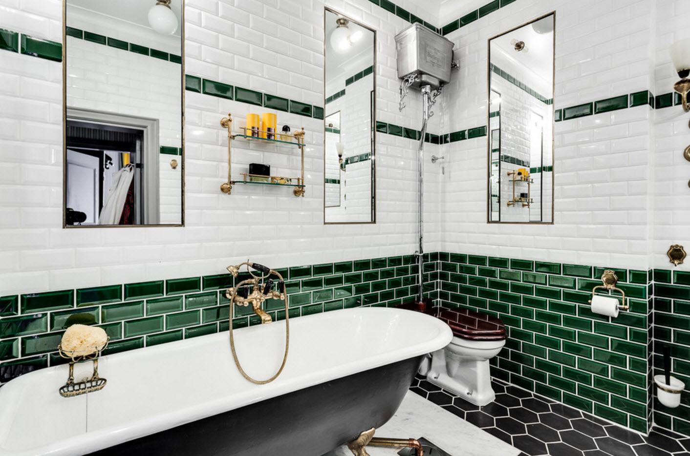 design de salle de bain spectaculaire avec toilettes
