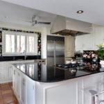 Fotomural bucătărie cu teme florale interioare