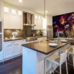 Fotomural bucătărie interioară macro fotografie de flori sălbatice
