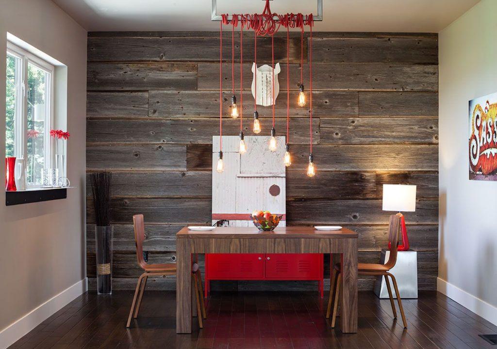 Fotomural interior bucătărie cu textură