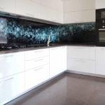 Șorț de bucătărie modernă cu imprimeu foto