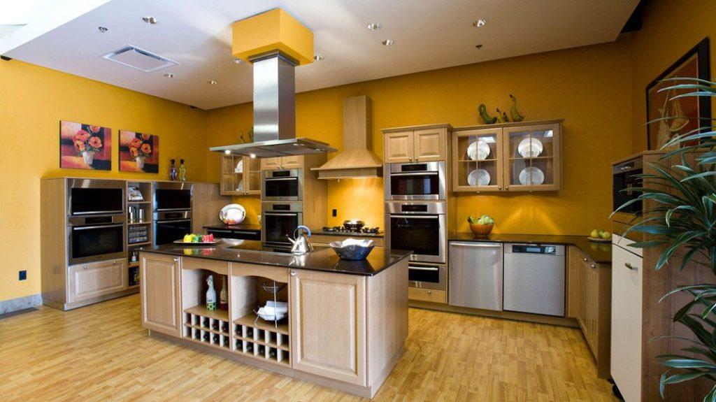 Bucătărie modernă spațiu privat