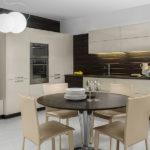 Set de bucătărie modernă bej deschis
