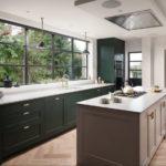 Bucătărie modernă într-o casă privată
