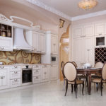 Bucătărie modernă în stil clasic