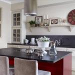 Bucătărie modernă în stil vintage