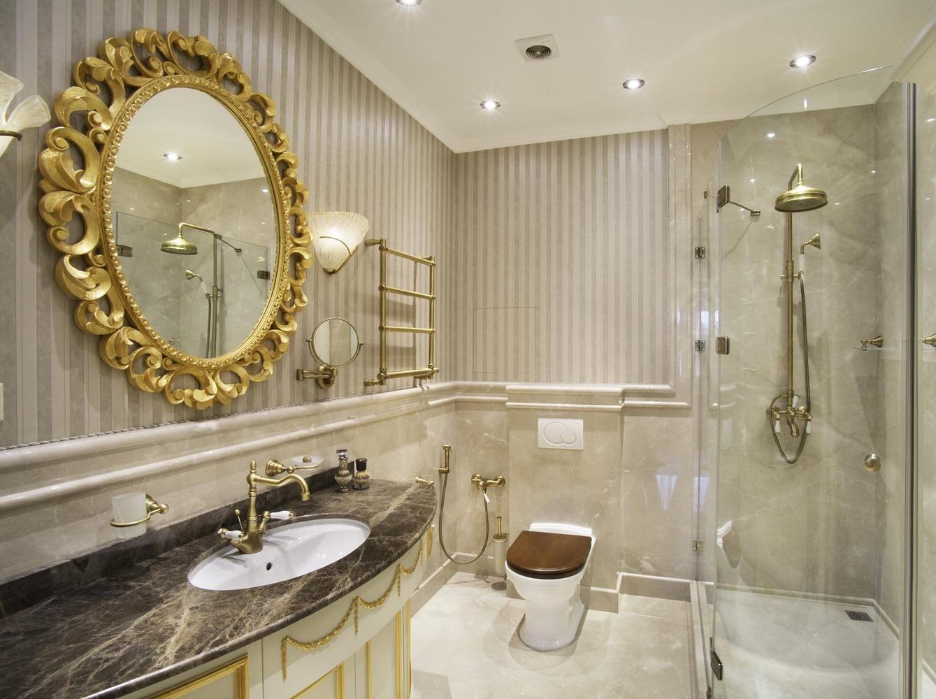 salle de bain de style classique