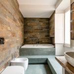 idées de conception de salle de bain pour toilettes combinées