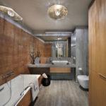 conception de salle de bain avec des idées de toilettes