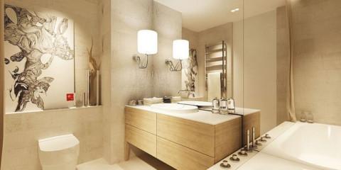 Phòng tắm 4 mét vuông ý tưởng thiết kế