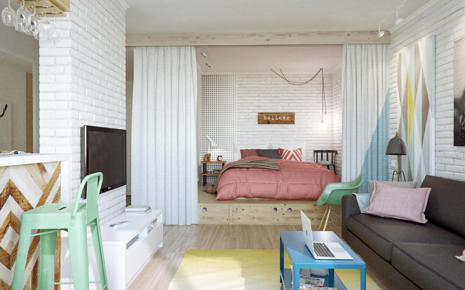 Phòng ngủ phong cách Scandinavia