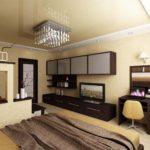 thiết kế hiện đại của phòng ngủ phòng khách