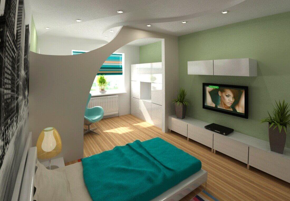 ý tưởng trang trí phòng ngủ phòng khách