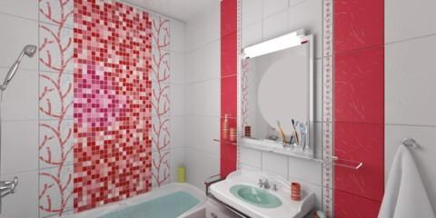 carrelage pour salle de bain à Khrouchtchev