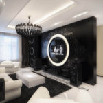 salon chambre design chic