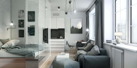 chambre avec salon