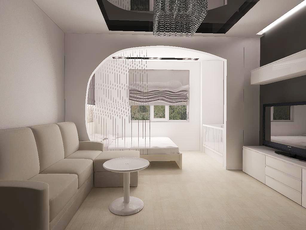 thiết kế tối giản phòng ngủ phòng khách