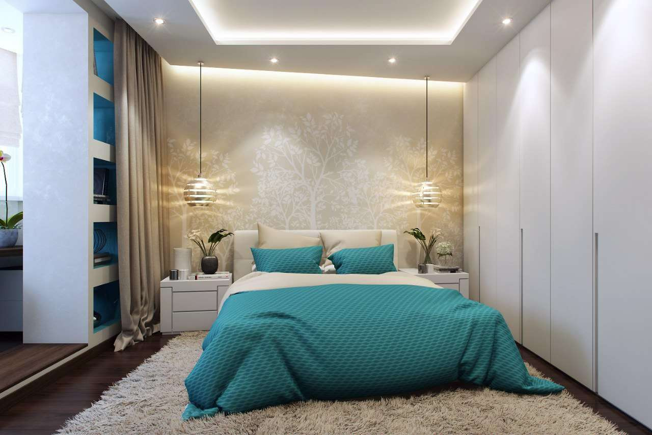 photo d'une chambre avec balcon et dressing