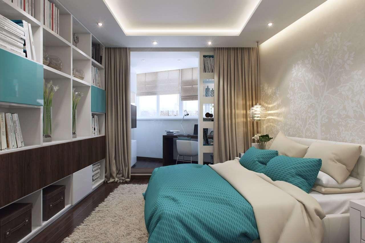 chambre avec balcon et dressing