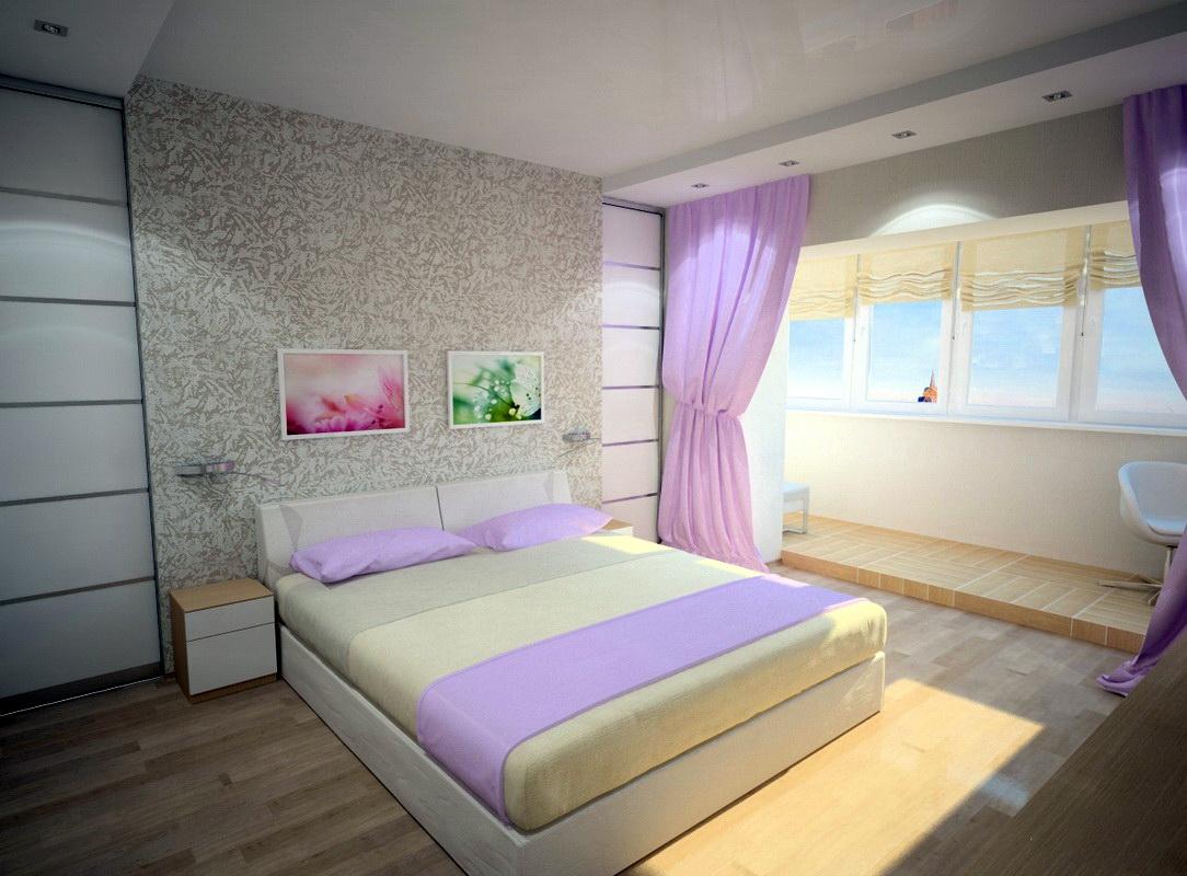 chambre avec balcon pour fille